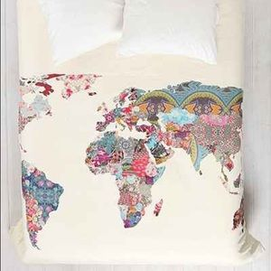 Urban Outfitters King Duvet Cover
